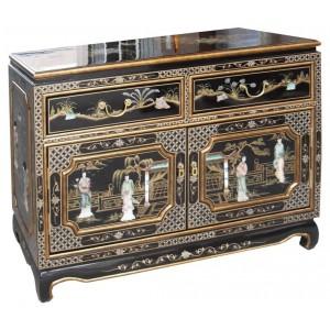 petit buffet chinois laque noire promodiscountmeubles magasin en ligne de meubles chinois et. Black Bedroom Furniture Sets. Home Design Ideas