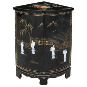 meuble d'angle encoignure chinoise