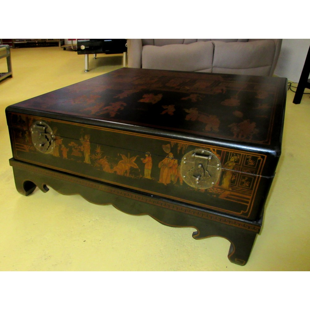table chinoise basse xian - Table Basse Asie