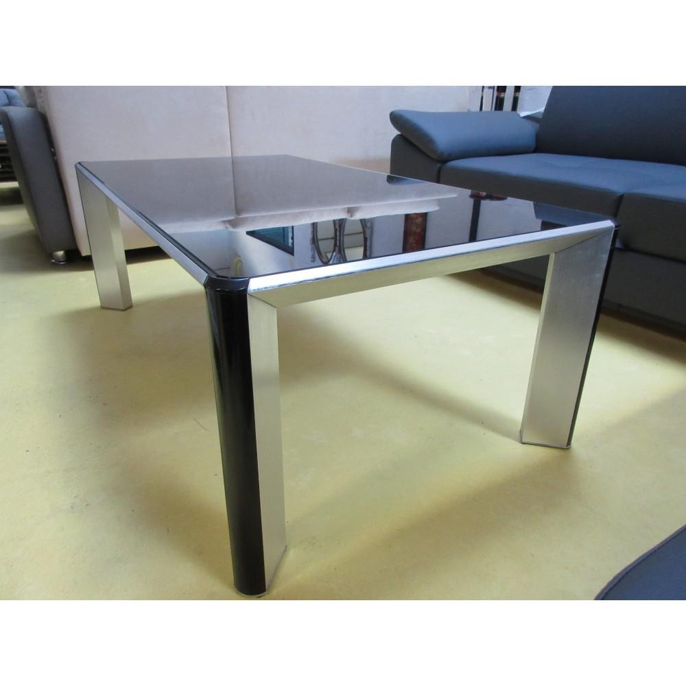 table de salon verre et acier promodiscountmeubles magasin en ligne de meubles chinois et. Black Bedroom Furniture Sets. Home Design Ideas