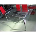 Table salle à manger en verre