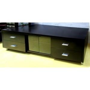 meuble t l weng portes verre promodiscountmeubles. Black Bedroom Furniture Sets. Home Design Ideas