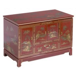 meuble tv chinois laque rouge promodiscountmeubles magasin en ligne de meubles chinois et. Black Bedroom Furniture Sets. Home Design Ideas
