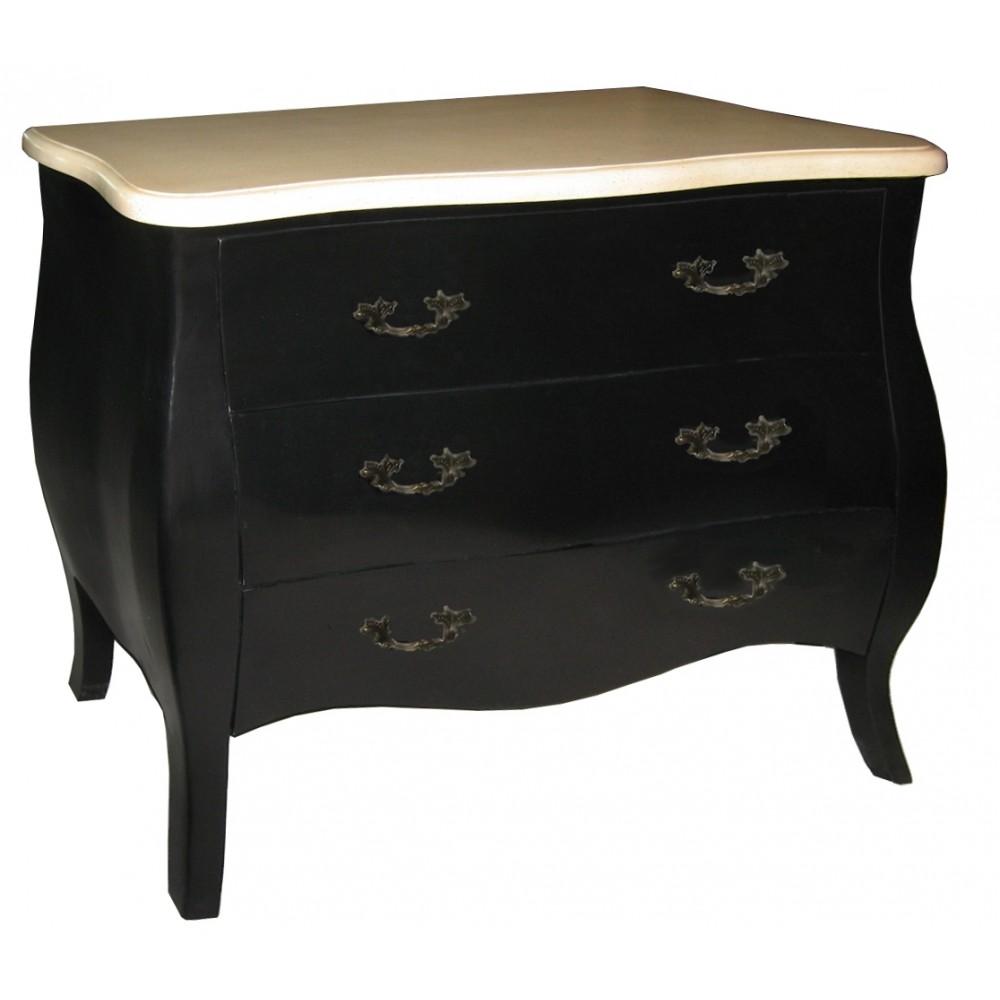 commode chinoise laque blanche 3 tiroirs promodiscountmeubles magasin en ligne de meubles. Black Bedroom Furniture Sets. Home Design Ideas