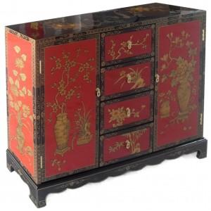 meuble de rangement bicolore promodiscountmeubles magasin en ligne de meubles chinois et. Black Bedroom Furniture Sets. Home Design Ideas