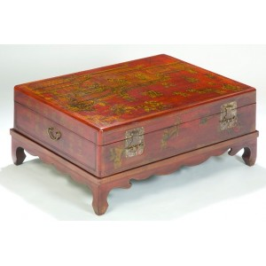 Table basse chinoise coffre