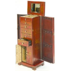 Coiffeuse chinoise meuble à  bijoux et clés