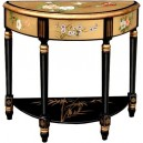 Console chinoise laque d'or