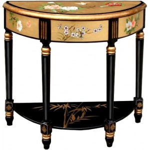 grande console chinoise laque style ancien magasin du meuble asiatique et chinois. Black Bedroom Furniture Sets. Home Design Ideas