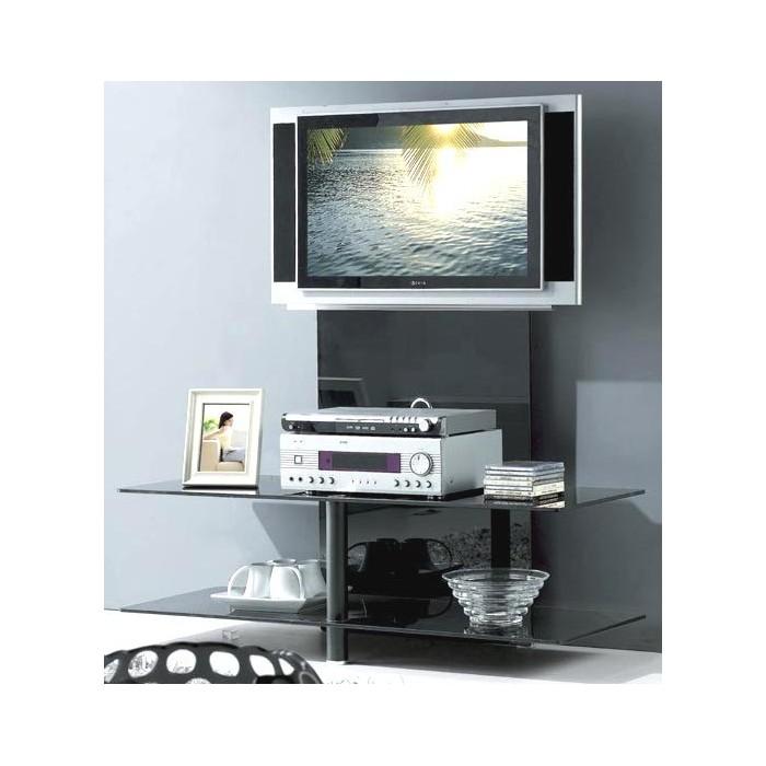Meuble tv support plasma design promodiscountmeubles for Meuble support tv