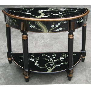 console chinoise laque noire promodiscountmeubles magasin en ligne de meubles chinois et. Black Bedroom Furniture Sets. Home Design Ideas