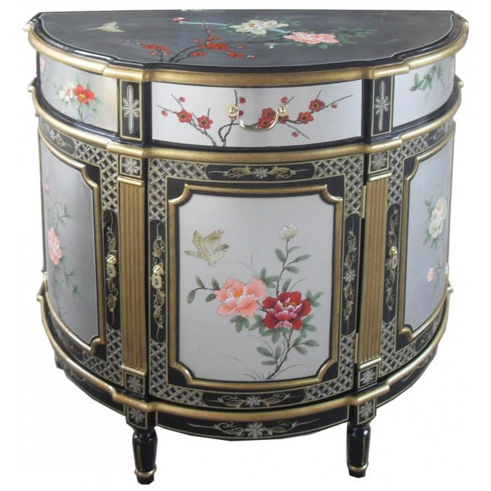 commode chinoise ancienne laque d 39 argent magasin du meuble asiatique et chinois. Black Bedroom Furniture Sets. Home Design Ideas