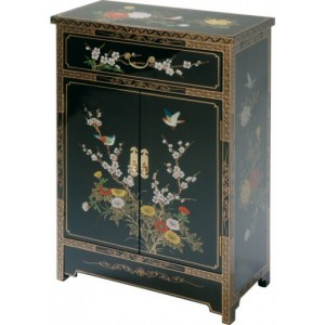 meuble chinois noir laqu magasin du meuble asiatique et chinois. Black Bedroom Furniture Sets. Home Design Ideas