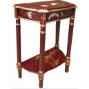 Console chinoise rouge ancien