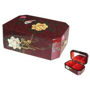 Boites à bijoux laquée chinoise