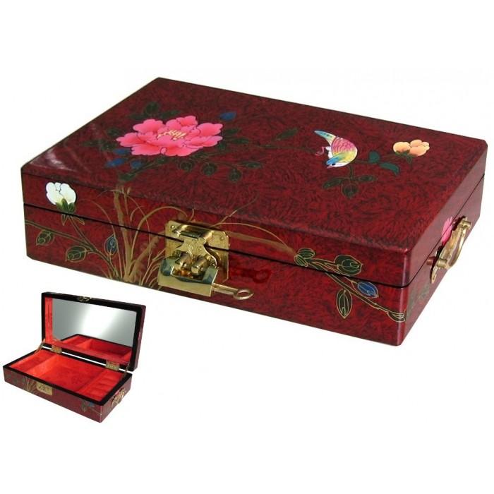boite a bijou chinoise en bois laqu magasin du meuble asiatique et chinois. Black Bedroom Furniture Sets. Home Design Ideas