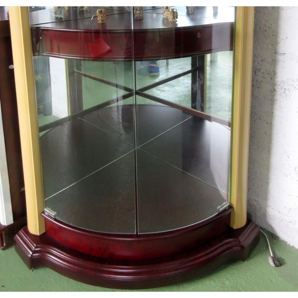 vitrine d 39 angle magasin du meuble asiatique et chinois. Black Bedroom Furniture Sets. Home Design Ideas