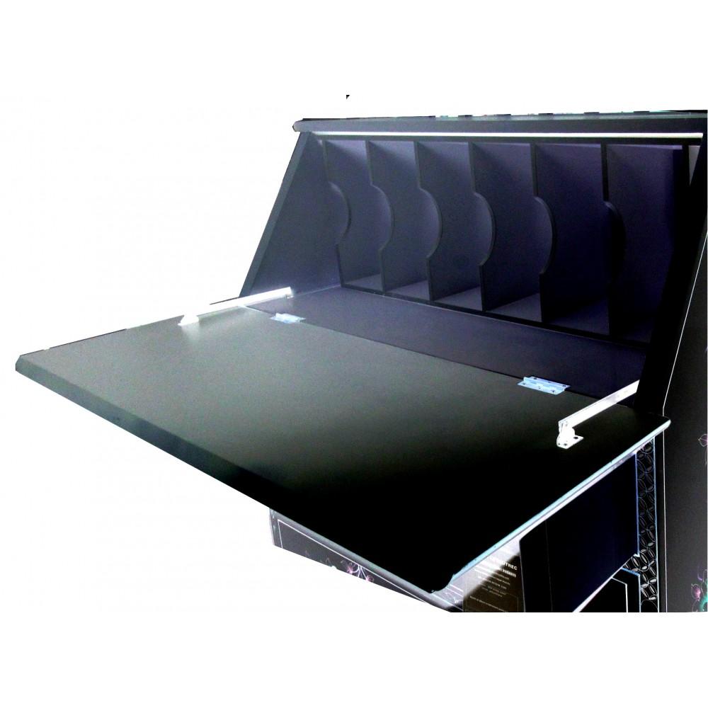 secr taire chinois laque noire magasin du meuble asiatique et chinois. Black Bedroom Furniture Sets. Home Design Ideas