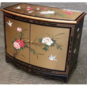 Meuble Commode Buffet Chinois Laque Doree Meubles Chinois