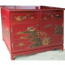 Buffet chinois  rouge
