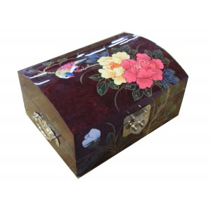 coffre bijoux galb e laqu magasin du meuble asiatique. Black Bedroom Furniture Sets. Home Design Ideas