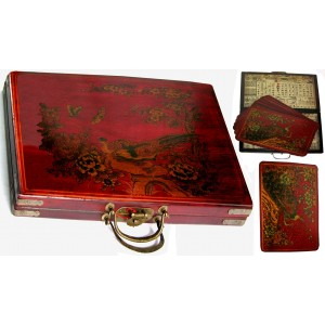 Coffret 6 sets de table chinois