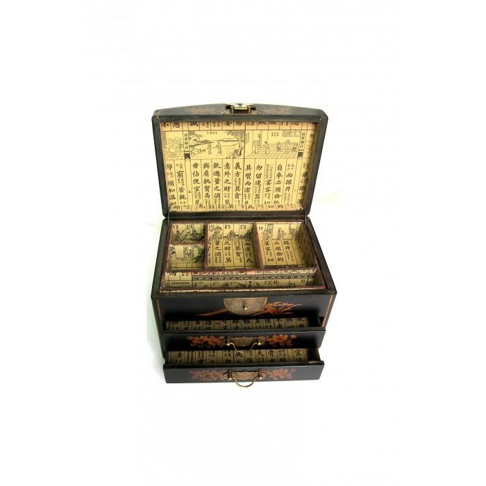 boite bijoux dessus galb magasin du meuble asiatique et chinois. Black Bedroom Furniture Sets. Home Design Ideas