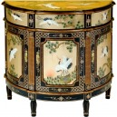 Commode chinoise ancienne laque dorée