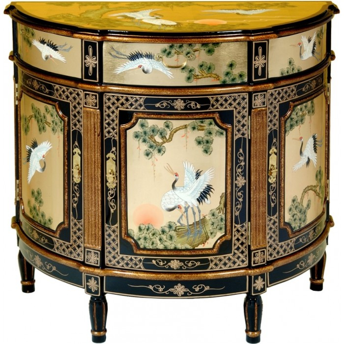 commode chinoise ancienne laque dor e magasin du meuble asiatique et chinois. Black Bedroom Furniture Sets. Home Design Ideas