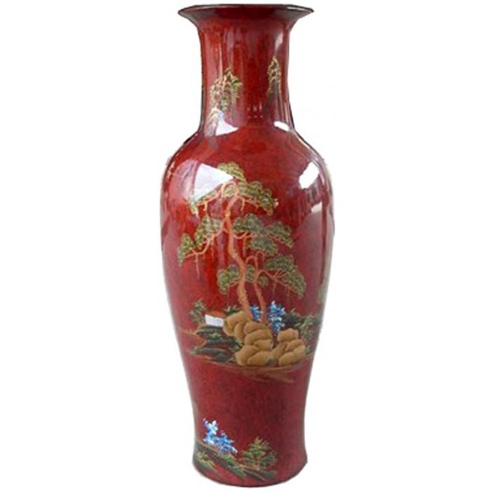Porcelaine chinoise rouge magasin du meuble asiatique et chinois - Meuble asiatique rouge ...
