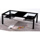 Table basse en verre design