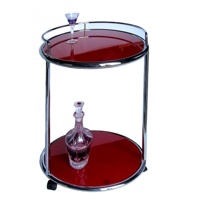 sellette verre rouge magasin du meuble asiatique et chinois. Black Bedroom Furniture Sets. Home Design Ideas