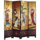paravent japonais geisha
