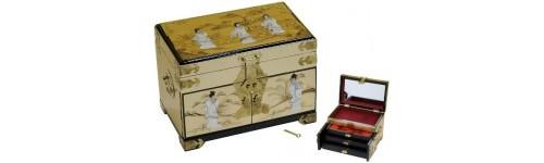 boites à bijoux laquées